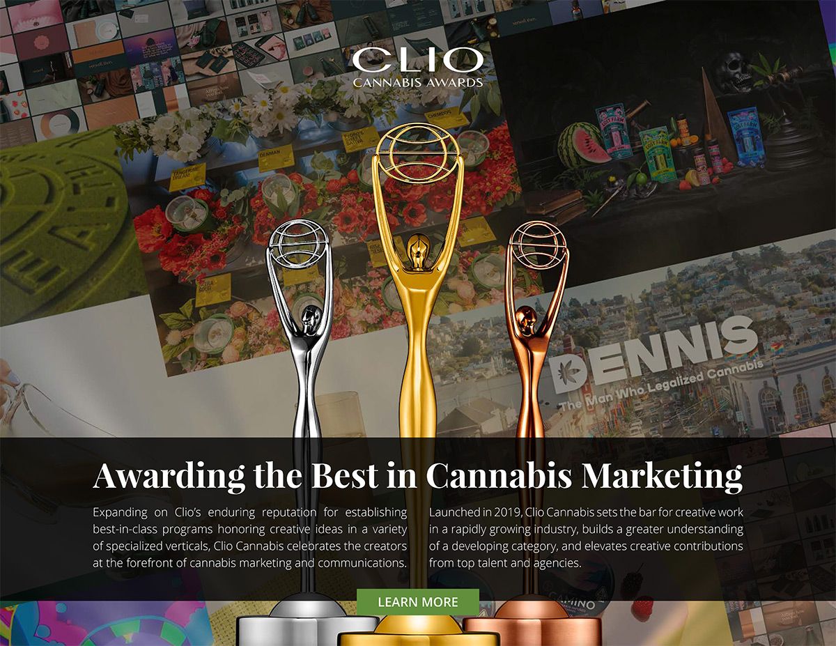 Clio Cannabis Awards 2021 Program Overview cover